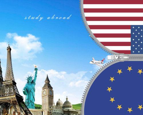 上海去美国读研究生