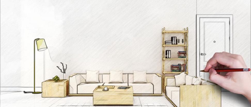 家居空间设计理论课程,学习过程中会应用到人体工程学、家居风水学、家居空间中起居室的设计方式、