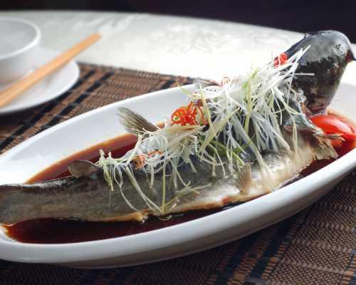 食为先石锅鱼成品图片