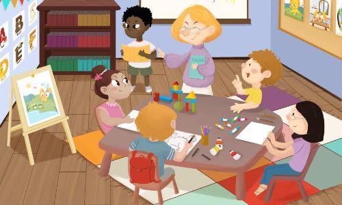 天津兒童美術基礎培訓班